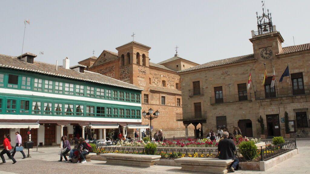 Plaza Mayor de Almagro, en Ciudad Real.