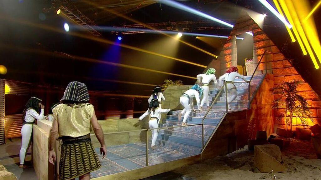Las tremendas y divertidas caídas de los concursantes en el primer juego de 'Secret Story'