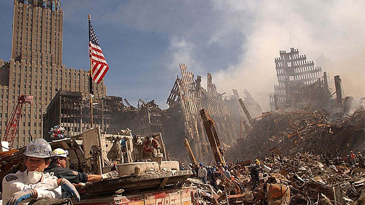 EEUU publica fotos inéditas del atentado terrorista de las Torres Gemelas del 11-S