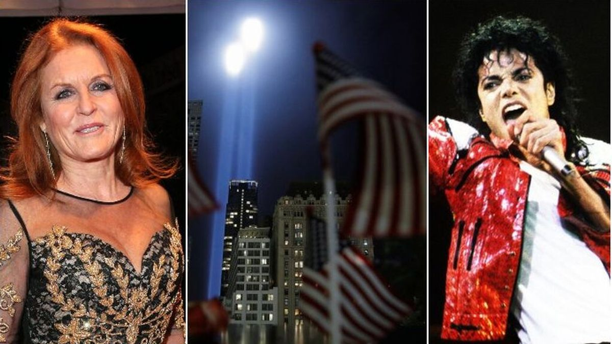 De Michael Jackson a Sarah Ferguson: famosos que se salvaron de morir en los atentados del 11-S