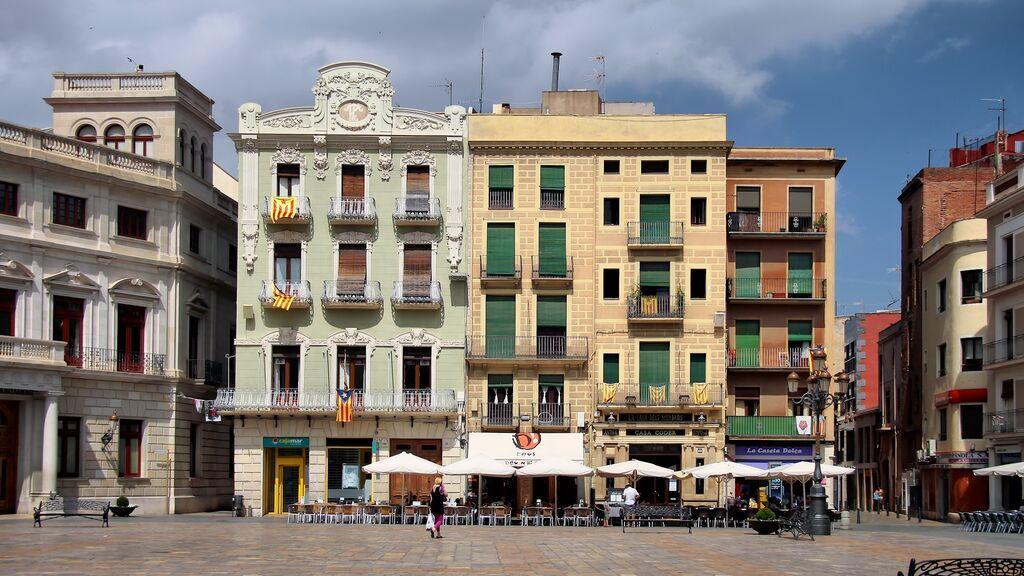 Plaça del Mercadal, en Reus.