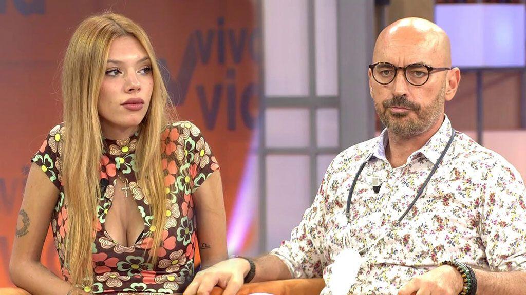 Diego Arrabal enfada a Alejandra Rubio por su dura crítica a las Campos