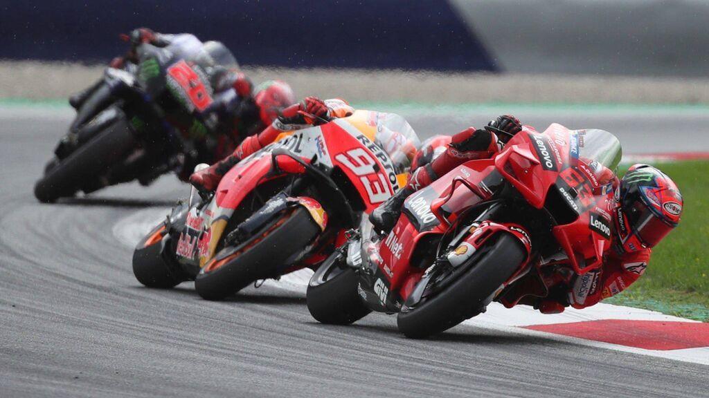 Bagnaia se lleva la pole en Aragón y Marc Márquez saldrá cuarto