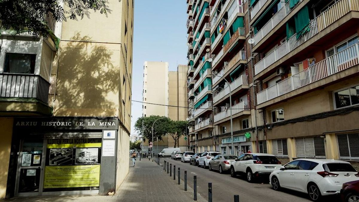Los Mossos investigan un segundo tiroteo en el barrio barcelonés de la Mina en menos de una semana