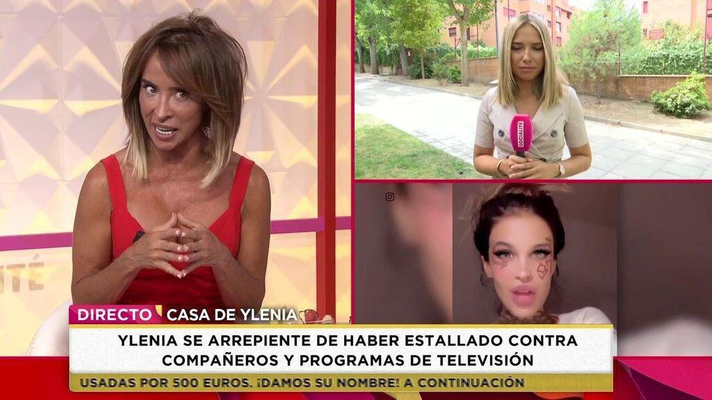 María Patiño valora la sinceridad de Ylenia