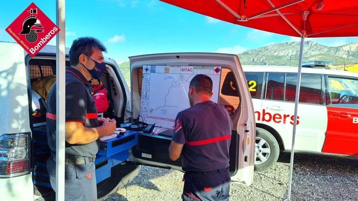 Encuentran sin vida al senderista desaparecido hace una semana en Alicante