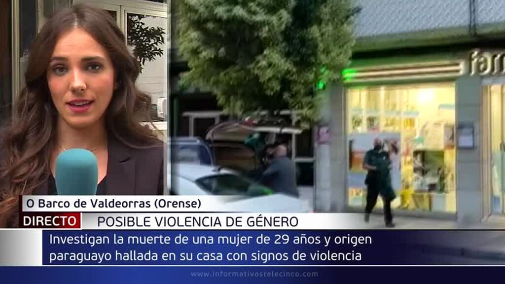 Encuentran a una joven de 29 años muerta con signos de violencia en un piso en O Barco, Ourense