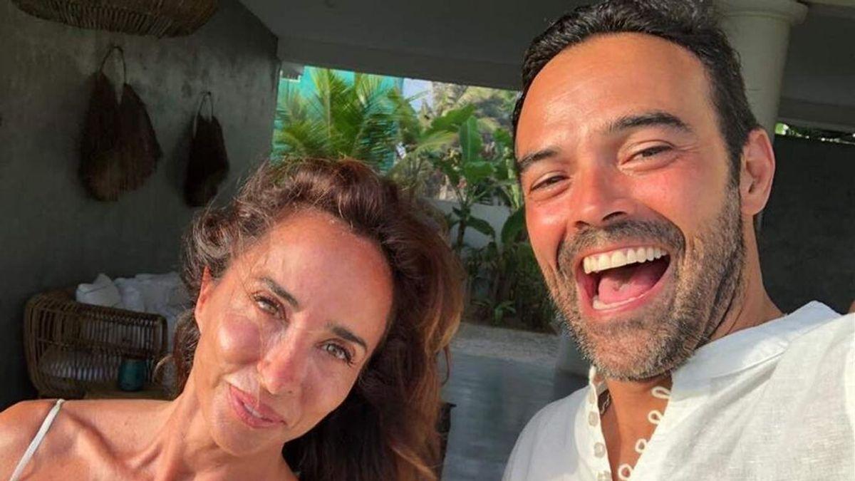 """María Patiño pasa la noche de fiesta con Almodóvar: """"No sabéis lo que supuso para mi chico estar con Pedro, él es actor"""""""