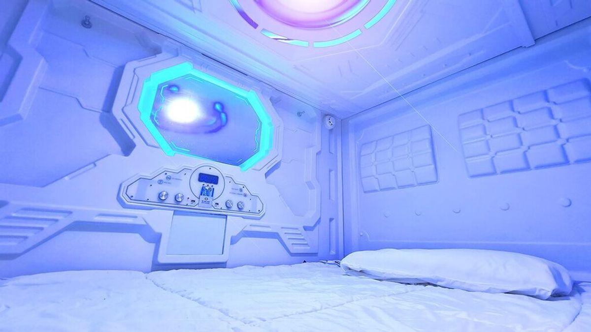 Abre el primer hotel en Madrid que alquila cápsulas como habitaciones 'lowcost'