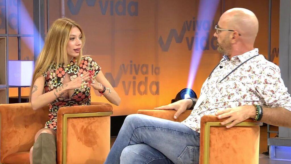 Alejandra Rubio estalla ante la crítica de Diego Arrabal