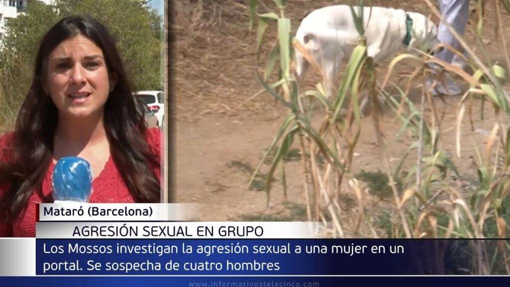 Buscan a cuatro hombres por la agresión sexual múltiple a una joven en Mataró: la acorralaron en un portal
