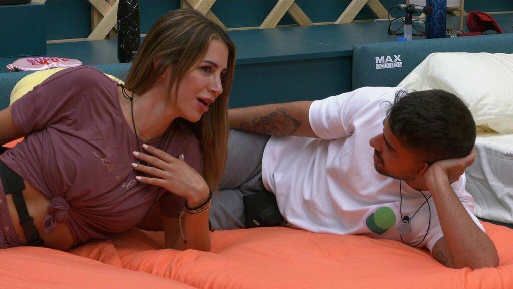 Cristina se desahoga con Miguel Frigenti