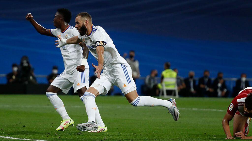 El Madrid remonta ante el Celta para festejar el regreso del Bernabéu (2-3)