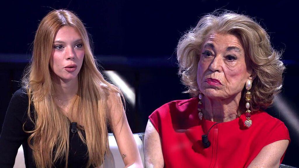 Alejandra Rubio se encara con Toya para defender a su abuela