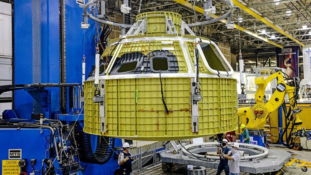La NASA comienza a construir las naves que viajarán a la Luna