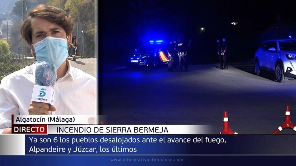 Decretan el desalojo preventivo de Genalguacil, Faraján y Pujerra por el incendio en Sierra Bermeja en Málaga
