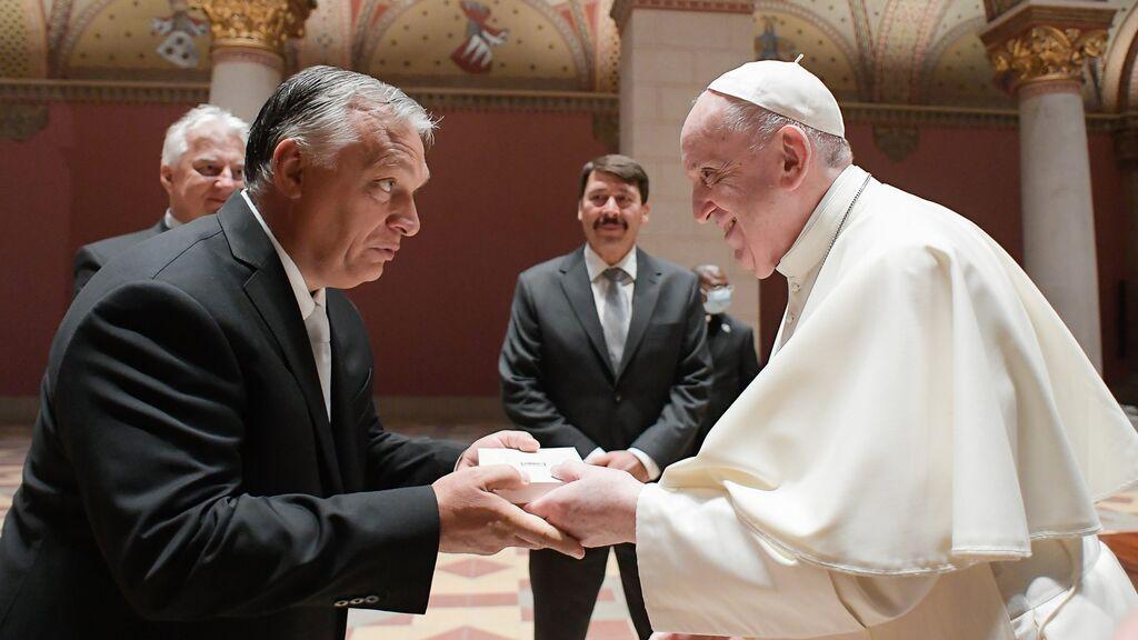 El Papa se reúne en Budapest con Viktor Orbán