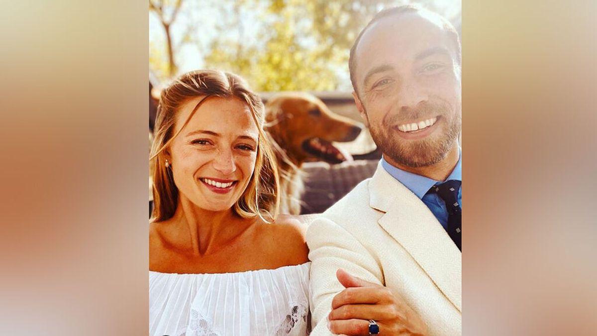 James Middleton, el hermano de Kate Middleton, se casa con Alizée Thevenet en una boda íntima en Francia