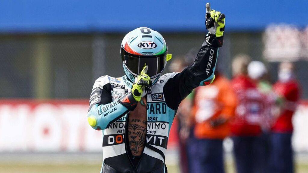Dennis Foggia se lleva el triunfo en Moto3 en el GP de Aragón