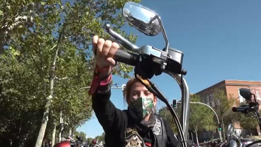 Los amantes de las Harley Davidson invaden Madrid