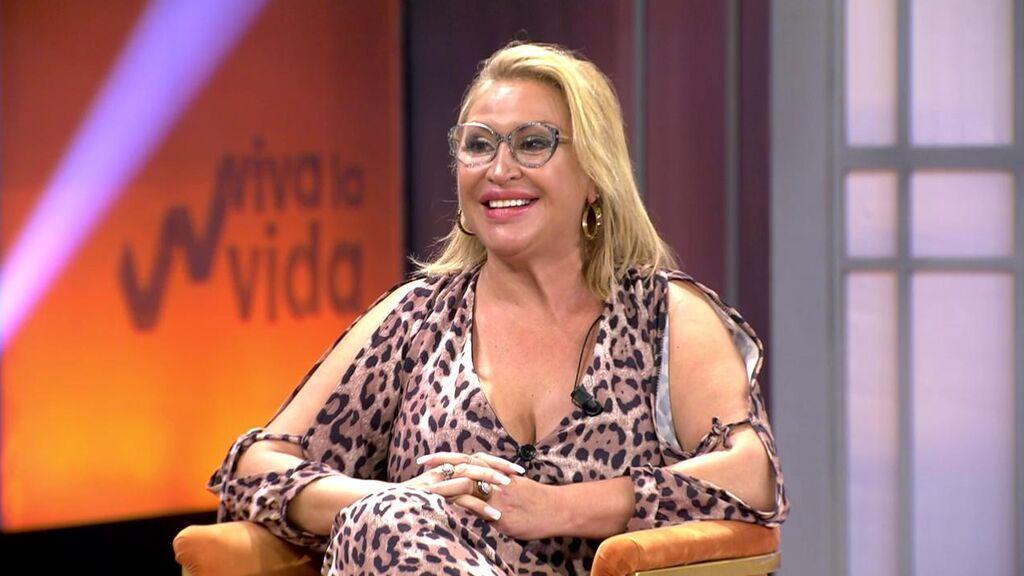 Raquel Mosquera, nueva colaboradora de 'Viva la vida'