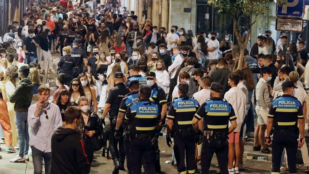 La incidencia de coronavirus sigue bajando en España