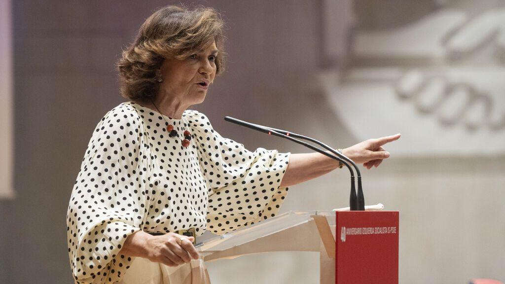 """Calvo asegura que el PP """"raya casi lo delictivo"""" con su oposición a renovar el CGPJ"""