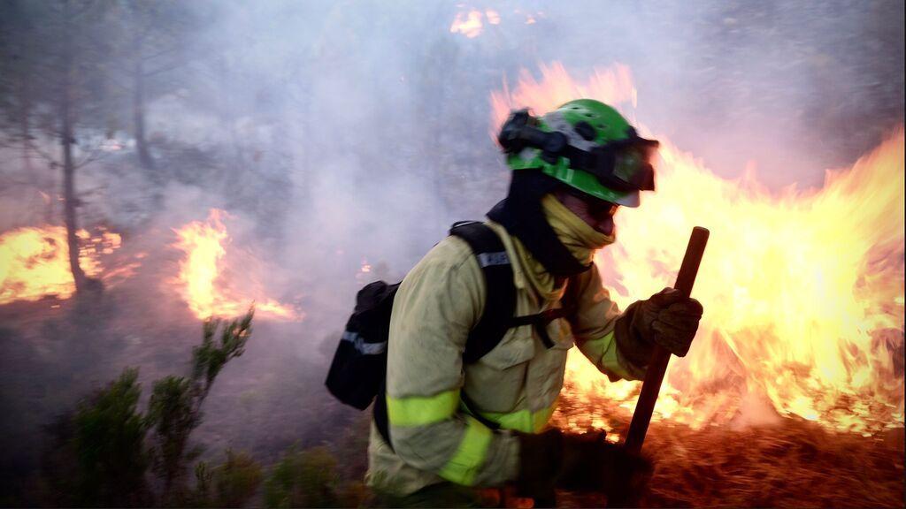 Desalojos por el incendio de Málaga