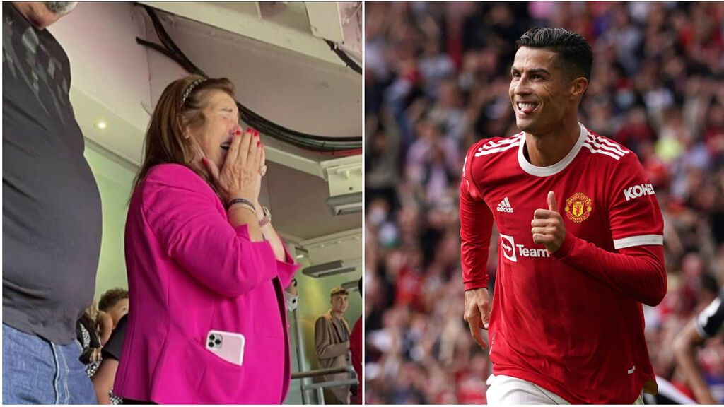 """Las lágrimas de Dolores Aveiro al ver el regreso de Cristiano Ronaldo al United: """"Ha sido un sitio mágico"""""""
