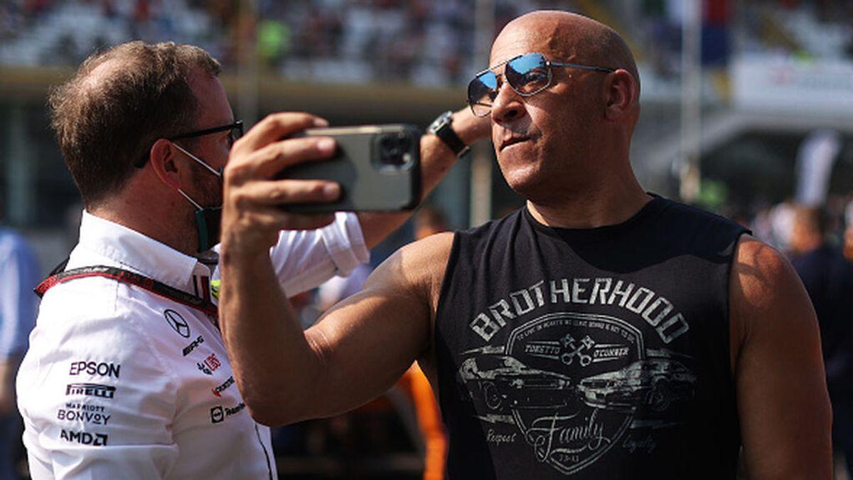 El espectacular cambio físico que ha sufrido Vin Diesel este verano