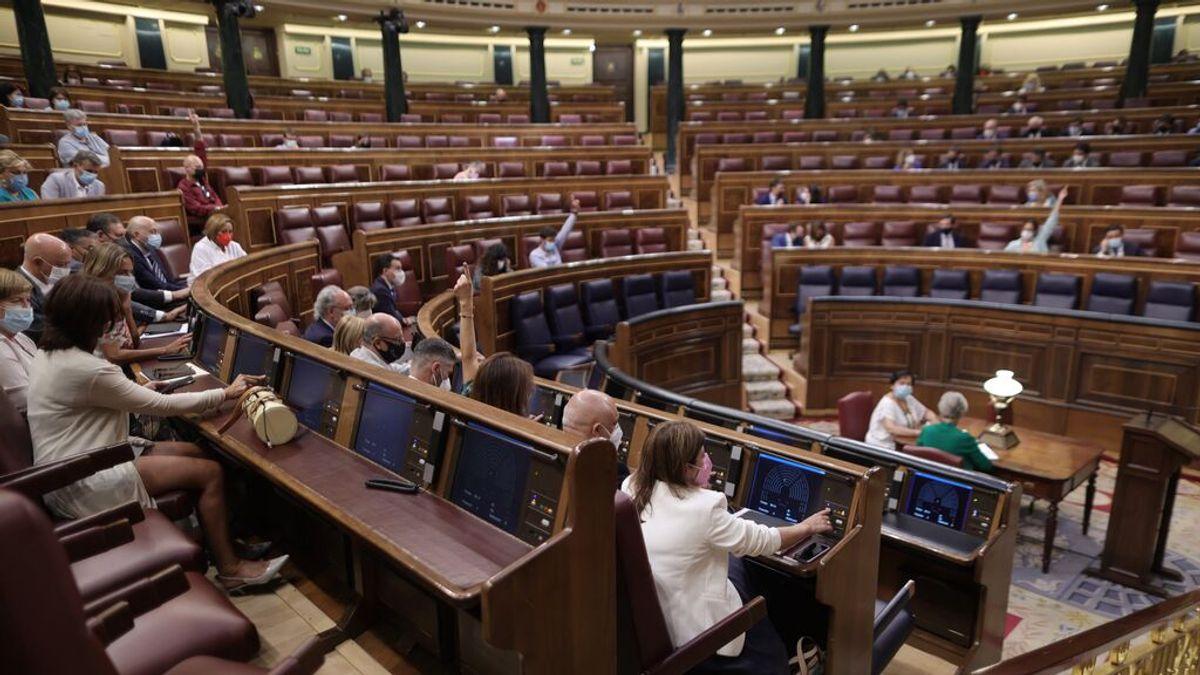 El Congreso retoma la actividad plenaria mientras estudia aumentar el aforo del hemiciclo