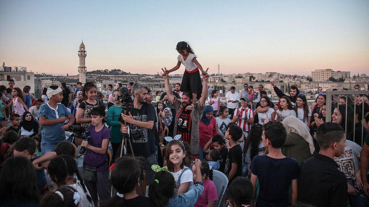 Una asociación gallega lanza un crowdfunding para llevar un circo móvil a los niños de la Franja de Gaza