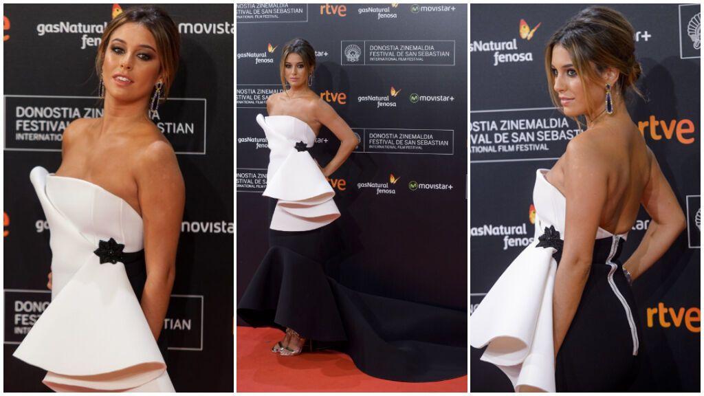 Blanca Suárez también suele acertar con sus outfit sobre la alfombra roja.