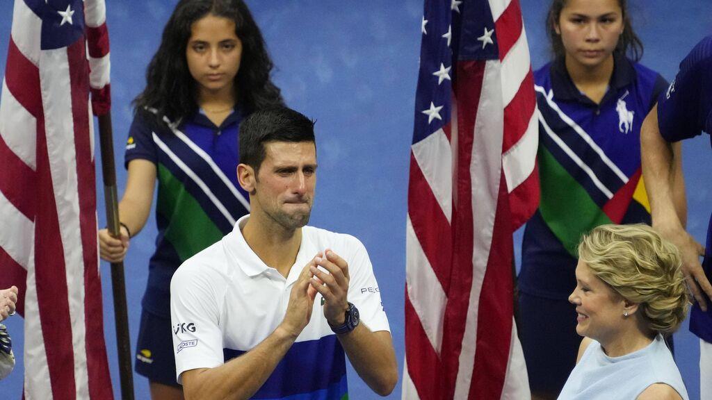 Djokovic no consiguió su 21 Grand Slam en el US Open.