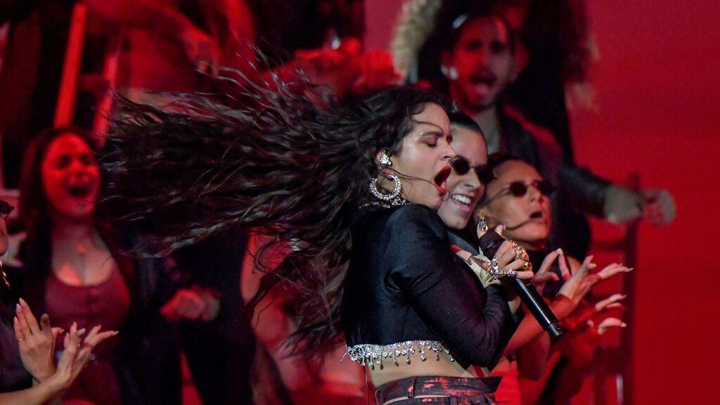 Rosalía y Billie Eilish ganan el premio MTV al mejor vídeo latino por 'Lo vas a olvidar'