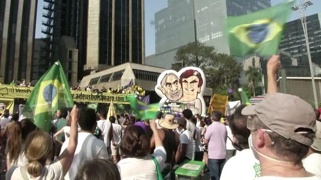 Brasil: cientos de manifestantes contra Bolsonaro en las calles del país
