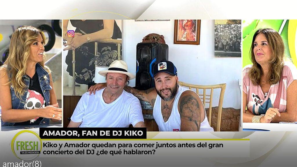 """Marta López, sobre la nueva amistad de Amador Mohedano: """"Debería hacerse representante de Kiko Rivera"""""""