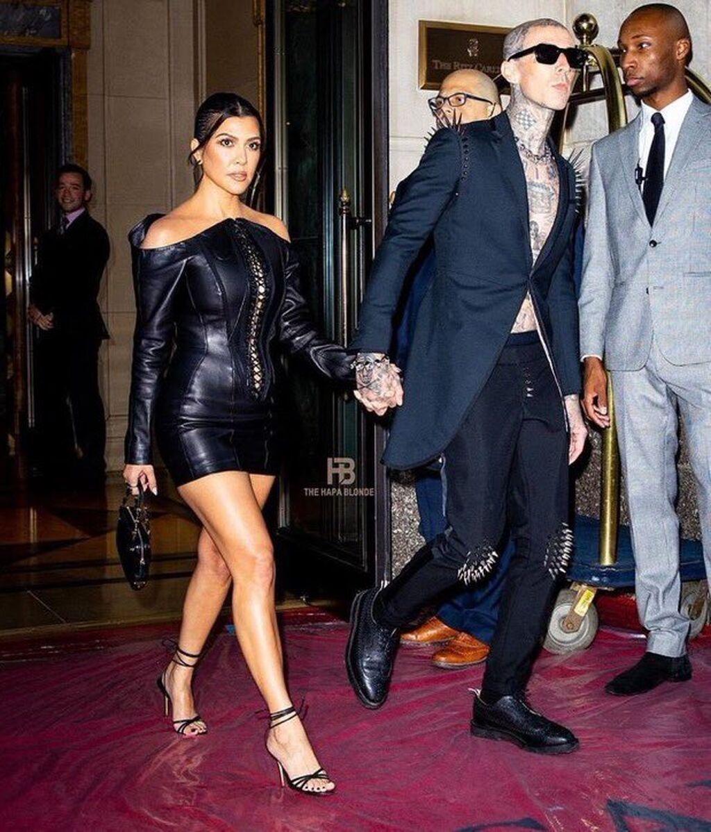 Kourtney Kardashian y Travis Barker