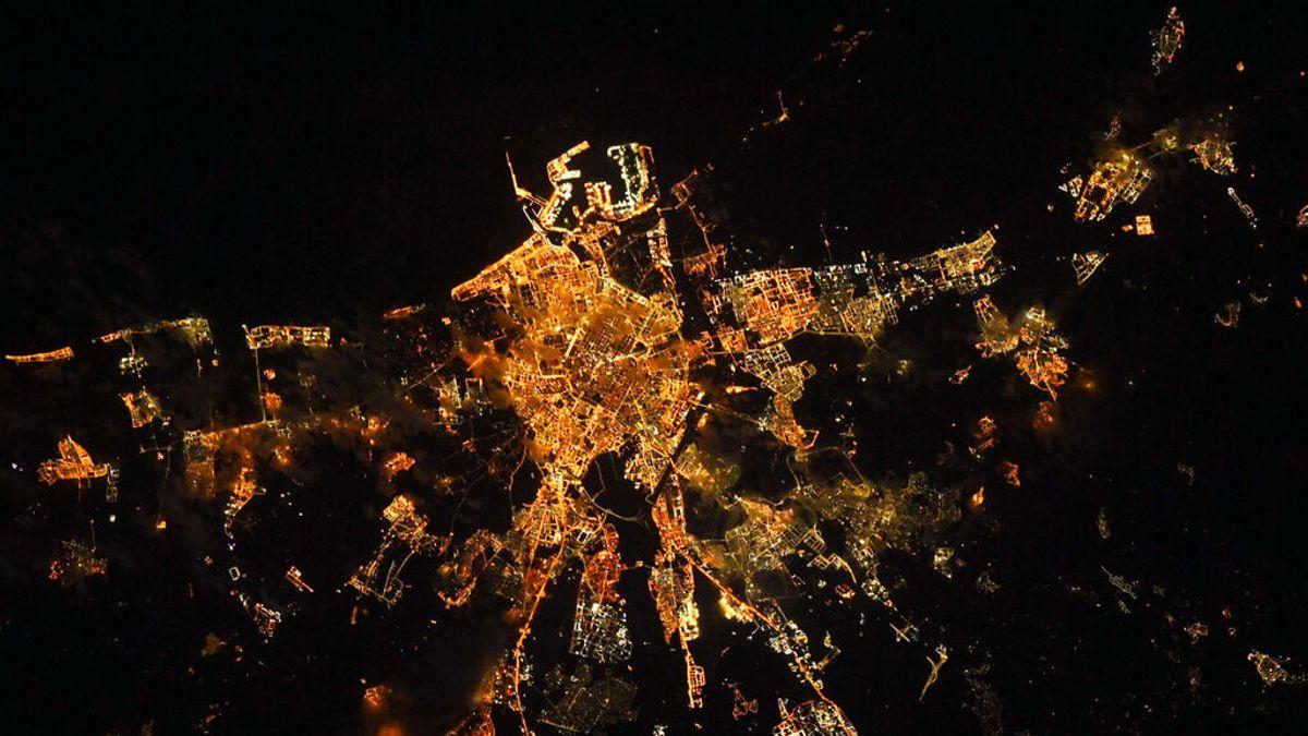 La foto de Valencia desde la ISS que se ha hecho viral en todo el mundo