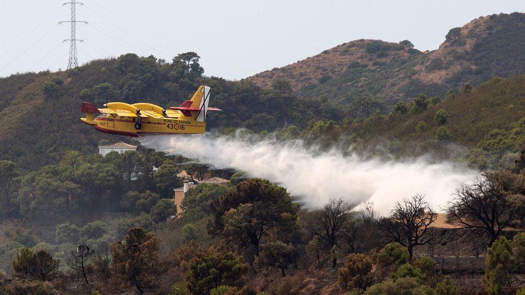 El incendio perfecto o cómo ha ardido sin control Sierra Bermeja durante cinco días