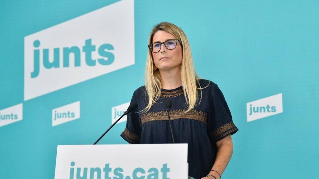 Elsa Artadi pide a Aragonès no participar en la mesa de diálogo si Sánchez no asiste