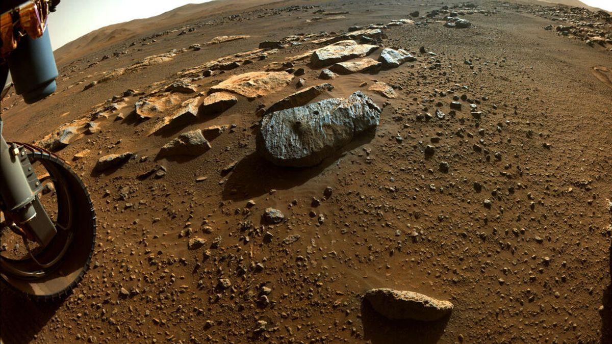 La primera roca analizada por el rover Perseverance en Marte apunta a un pasado habitable