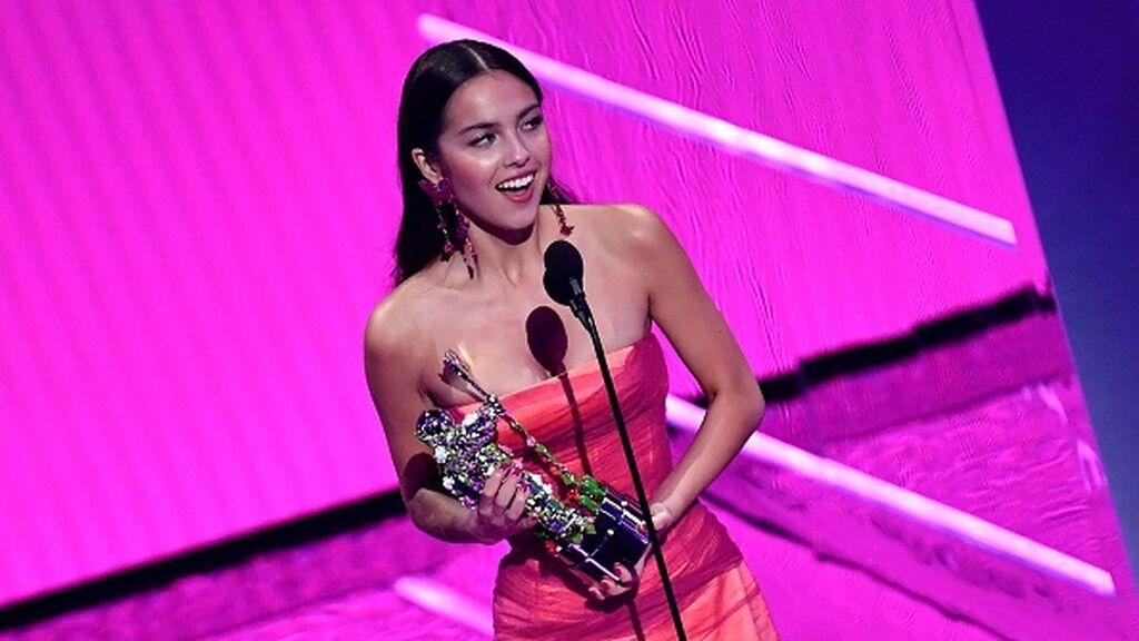 Premios MTV2021: Olivia Rodrigo, la debutante arrasa con tres premios