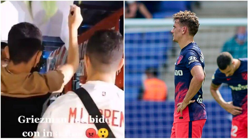 """Aficionados del Atlético increpan a Griezmann antes del partido ante el Espanyol: """"Antoine, eres un perro"""""""