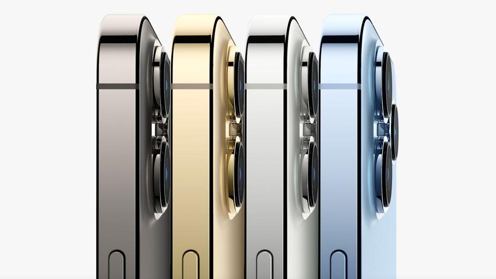 Así es el nuevo iPhone 13 y iPhone 13 Pro