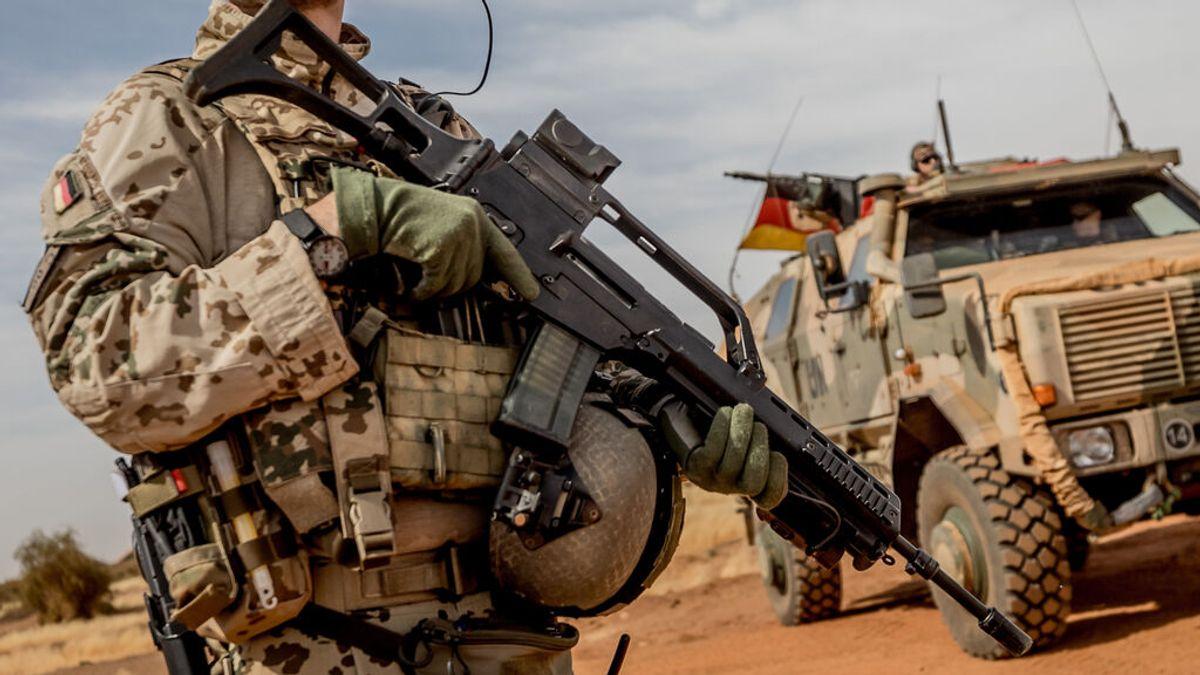 Al menos tres soldados españoles de la misión de la UE en Malí resultan heridos en un accidente de tráfico