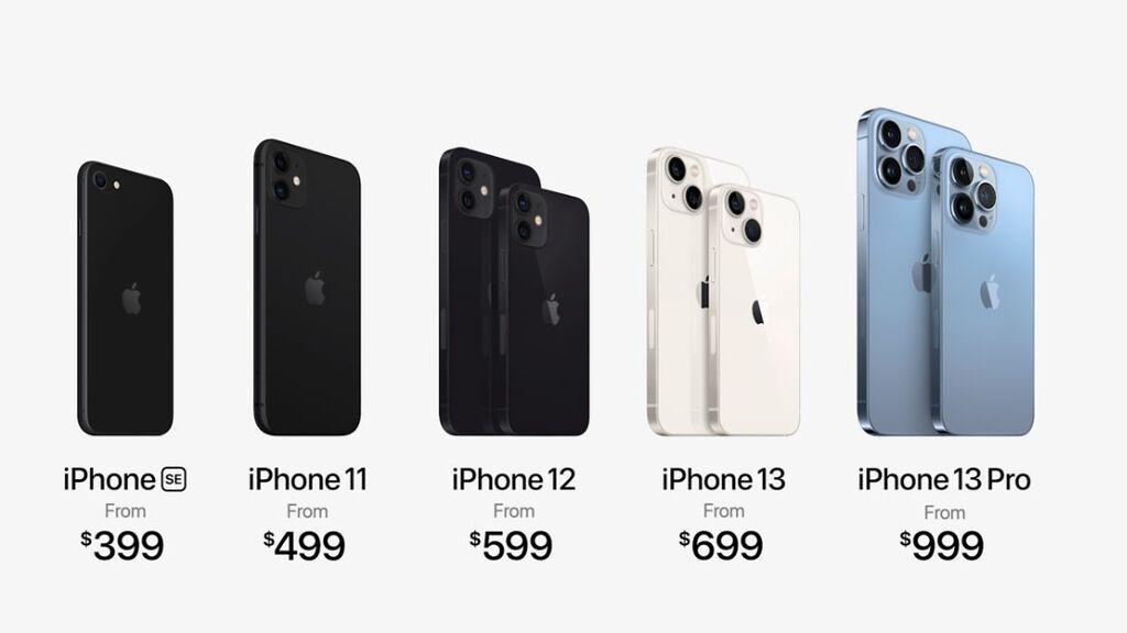 Modelos y precios actualizados de iPhone