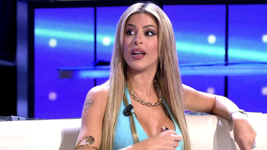 """La teoría de Oriana Marzoli que relaciona a su ex Iván González y Luca Onestini: """"Son dos tíos guaperas"""""""