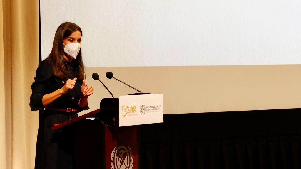 El discurso de Letizia en la UCM