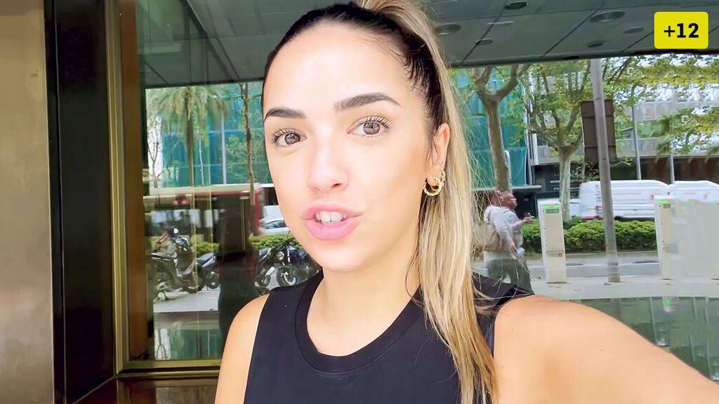 Lucía Sánchez viaja a Barcelona para reencontrarse con alguien muy especial (1/2)